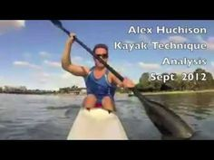 Kayak Technique Analysis - YouTube