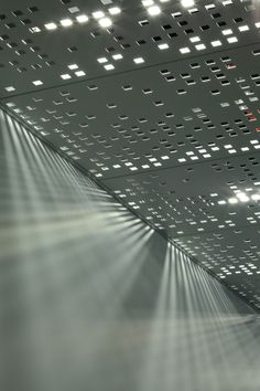 Juniper Networks / Valerio Dewalt Train Associates - ceiling tile, custom perforations