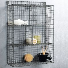Wire Shelf Rack from notonthehighstreet.com
