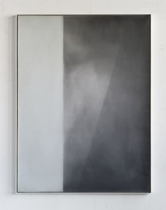 Derek Root, Airborne Particles Oil, Wax on Canvas and Wood 2012 40 x 30 inches
