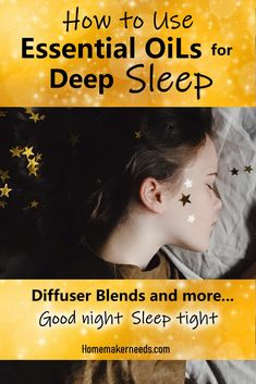 , How To Use Essential Oils For Deep Sleep! , Essential oils that are amazing for deep sleep. Essential oil diffuser blends for a great sleep. Calming and relaxing recipes using essential oils for. Deep Sleep Essential Oils, Sleeping Essential Oil Blends, Essential Oil Diffuser Blends, Young Living Essential Oils, Essential Oil Combinations, Allergies, Aromatherapy Oils, Stress, Bedtime Yoga