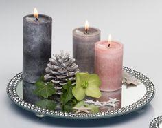 Tämäkin ihana kynttilän alusta löytyy valikoimastamme.