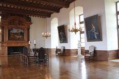 Salle de cheminées - Château de Hautefort