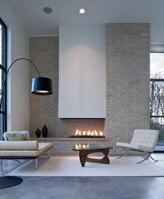 Le charme d'une cheminée... en appartement