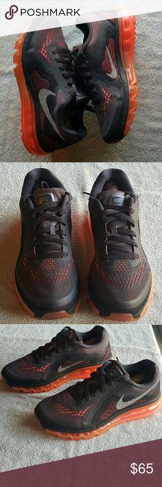 Nike Free Run Purple, black and neon Nike athletic In fair