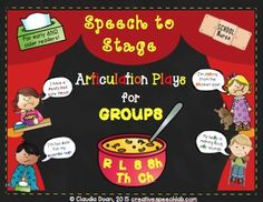 Working on multiple articulation goals in a GROUP?Tired of boring articulation drill?Want to increase student motivation and practice at the same time?In between laughs, your students will be motivated to practice their speech sounds individually or in a group over and over again as they rehearse their lines in these humorous articulation scripts filled with silly and outrageous complaints for the school nurse!Here's how it works:Students can work on multiple sounds by taking turns reading…