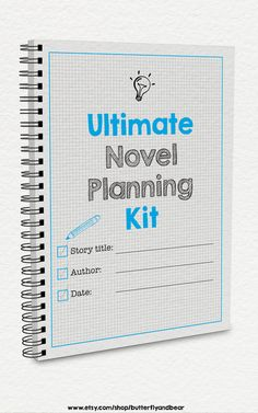 20 writing worksheets full of tips and ideas for planning your novel.
