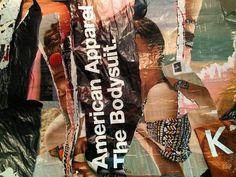 @AMERICAN APPAREL / Ready-Made PARIS - 2016 - @DOM(K) Street Art, Urban, American Apparel, Collage, Paris, Instagram Posts, Art Deco, Montmartre Paris, Paris France