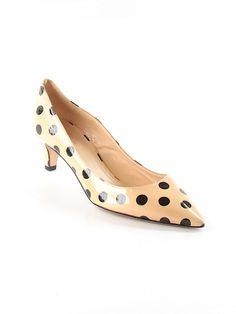 Polka Dot Kate Spade kitten heels