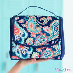 Wholesale Boutique Emerson Paisley Collection Lunch Bag  Monogrammed by HeyYallandCo on Etsy