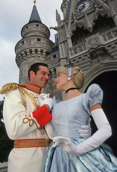 I want a picture of me and hubs like this. Minus the costumes... Ok, maybe the costumes... (;