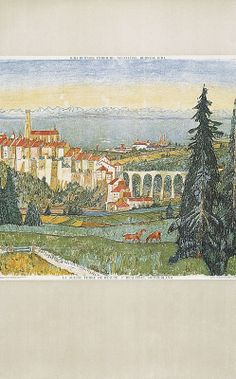 Alois Carigiet 1945 Grayson Perry, David Hockney, Vintage World Maps, Nostalgia, Poster, Sculpture, Drawings, Prints, Landscapes