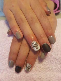 Verniz de gel nail art My Nails, Nail Art Designs, Fashion Beauty, Finger Nails, Nail Designs