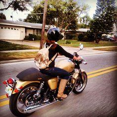 Yen Ryder, hairstylist, on her 2012 Triumph...