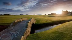 The Old Course, St Andrews, Fife, Scotland The Home of Golf, where the game of golf was invented and first played there... over 500 years ago