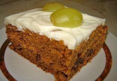 Detail receptu - Anglický zdravý mrkvový koláč