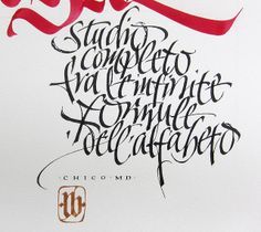 Infinite formule - close up by Luca Barcellona - Calligraphy & Lettering Arts, via Flickr