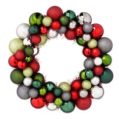 Bauble Wreath 12"