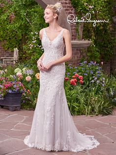 Rebecca Ingram - Tara  Available at Bowties Bridal: (702) 456-5688