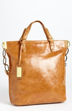 Badgley Mischka 'Tish Shine' Tote available at #Nordstrom, gorgeous!  I think I'd go with the black though.