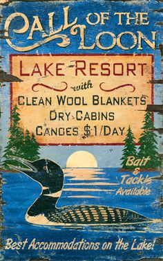"Lake Lodge""y"" sign"