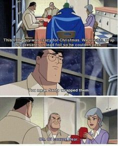 Justice League: Comfort and Joy