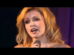 Katherine Jenkins! Yes, the same one that was on Dancing With The Stars. Beautiful voice.