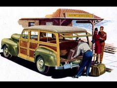 Recorded 1964 for the Riviera label, but first published in 2000 by Norton Records. Surf Music, Woody Wagon, Station Wagon, Route 66, Old Cars, Tudor, Vintage Cars, Arizona, Advertising