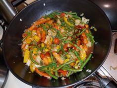 Super spicy veggie stir fry