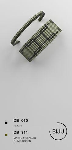 4,72 $ Loom bracelet pattern, loom pattern, square stitch pattern, pdf file, pdf pattern, cuff, #11BIJU#BIJU