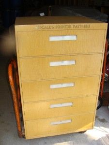 Sewing Pattern File Cabinet | MF Cabinets