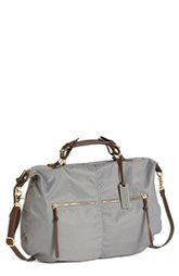 Steven by Steve Madden Nylon Satchel, Extra Large