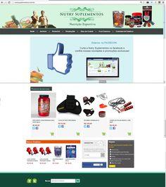 Site Nutry Suplementos - 2013 - Nutrição Esportiva