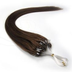 """2012 New Products 18"""" Human Hair Extensions Remy 100s Double Silicone Rings Beads Tipped 0.6g 100s 06 Dark Chocolate Brown in Women's Health Beauty Hot by lilu. $36.00. Can be curled, straightened, tongued & washed. long Asian soft Silky straight 100% human hair. 100% remy human hair extensions and very competitive price.. We guarantee 100% human hair AND Loops tipped ,We guarantee 100% human hair could be applied with micro rings. Adds instant length and volume. do..."""