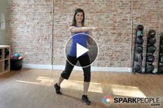 Cardio Kickboxing Workout Video Burn 100 Calories in 10 Minutes! Fitness Diet, Fitness Motivation, Workout Fitness, Free Workout, Health Fitness, Workout Videos, Exercise Videos, Workout Exercises, Dance Exercise