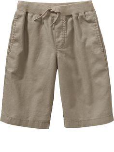 3450f34929 Boys Linen-Blend Pull-On Shorts Maternity Wear, Man Shop, Swim Trunks