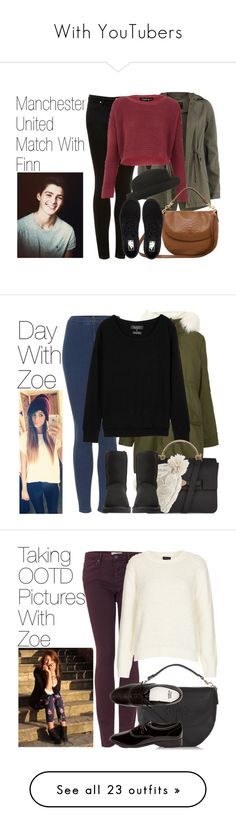 """""""With YouTubers"""" by onedirectionimagineoutfits99 ❤ liked on Polyvore featuring Topshop, Dorothy Perkins, Mulberry, Vans, rag & bone, UGG Australia, American Apparel, Yves Saint Laurent, Loeffler Randall and Mason by Michelle Mason"""