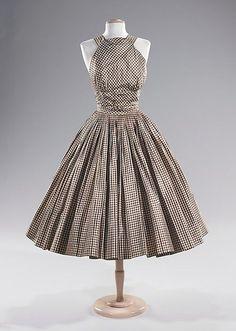 Dress Norman Norell, 1955 The Metropolitan Museum of Art