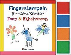 Fingerstempeln für kleine Künstler-Set - Feen und Fabelwesen: Mit vier Fingerstempelfarben: Amazon.de: Norbert Pautner: Bücher