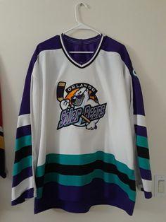 Orlando Solar Bears Men s Hockey Jersey ECHL Bauer Size XXL Made in Canada   Bauer   c32b0a13e