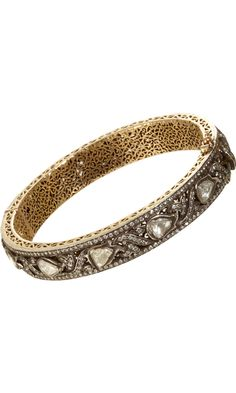 Diamond Vine Bangle