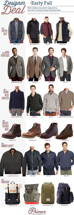 Designer To Deal Early Fall Primer Alternatives For Seasonal Clothing Depending On Your Price Point 2 Mode Masculine, Sharp Dressed Man, Well Dressed Men, Mode Outfits, Fashion Outfits, Fashion Tips, Fashion Ideas, Fashion Scarves, Fashion Trends