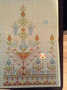 This Pin was discovered by Nur Cross Stitch Boarders, Dmc Cross Stitch, Cross Stitch Flowers, Cross Stitch Designs, Cross Stitch Patterns, Palestinian Embroidery, Hungarian Embroidery, Folk Embroidery, Cross Stitch Embroidery