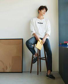 The end of one story is the beginning of another Korean Fashion Men, Korean Men, Asian Men, Mens Fashion, Asian Actors, Korean Actors, Nam Joo Hyuk Wallpaper, Park Bogum, Joon Hyung