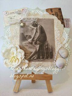 Heidis kortlagingsblogg: Vintage sommerdame