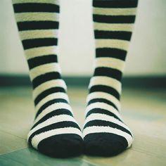 stripey socks... my favorite!