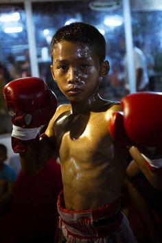Muay Thai Boxing Stadium Sairee Koh Tao Island - Thailand