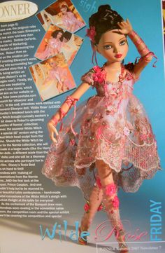 Ellowyne Wilde Rose Tonner Con Exclusive 2007 Le 300 RARE | eBay Tonner Summer 2007 Newsletter 7
