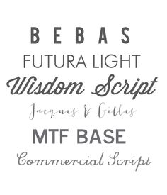 {Mostly} free fonts via Who's Your Little Buffalo?