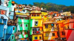 📷 Royalty-free image: Colorful painted buildings of Favela in Rio de Janeiro Brazil Favelas Brazil, Travel Advice, Travel Tips, Travel Info, Travel Ideas, Moral Dilemma, City Gallery, Climate Change Effects, Months In A Year
